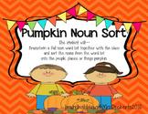 Fall Pumpkin Noun Sort