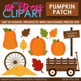 Fall Pumpkin Patch Clip Art (Digital Use Ok!)