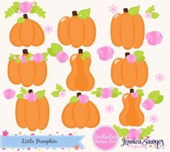 Fall Pumpkin Patch Clipart