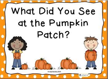 Pumpkin Patch Field Trip Pack