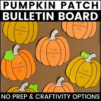 Pumpkin Bulletin Board | Fall Bulletin Board | Perseverance Bulletin Board
