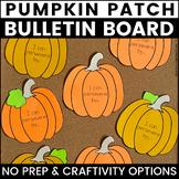 Pumpkin Bulletin Board | Fall Bulletin Board | Perseveranc