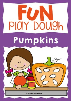 Fall / Pumpkin Activities Play Doh Mats - Addition