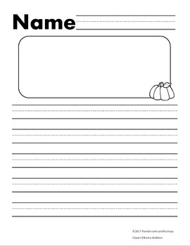 Primary Writing Lines Clip Art & Worksheets | Teachers Pay