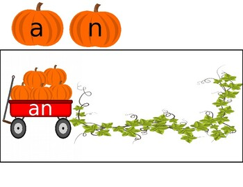 Fall Pumpkin Sight Word Building/Spelling Center