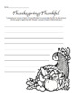 Fall, Pumpkin, Thanksgiving Activity Pack - Writing, Comparisons & Telling Time