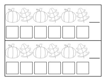 Fall Pumpkin/Leaf Patterns - Kindergarten