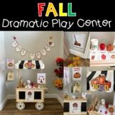 Fall Pumpkins Apples Farm Dramatic Play Set