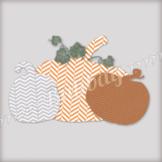 Fall Pumpkins Clip Art