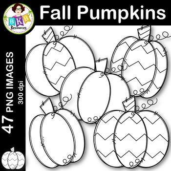 Fall Pumpkins ● Clip Art