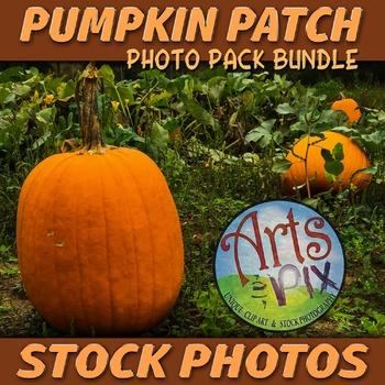 """Stock Photos - """"Pumpkin Patch"""" Fall Photo Pack BUNDLE - Ar"""