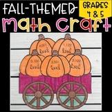 Fall Pumpkins Multiplication Craft