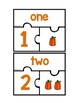 Fall Pumpkins Number Matching Puzzles for Math Centers