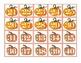 Fall- Pumpkins Pocket Chart Number Cards 1-100