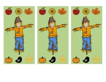 Fall Punch Card