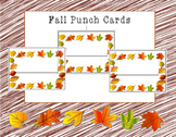 Fall Punch Cards