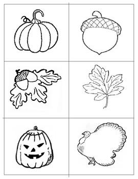 Fall Push-pin Pictures: Freebie