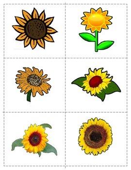 Freebie Fall Push pin/cutting: Apples and Sunflowers