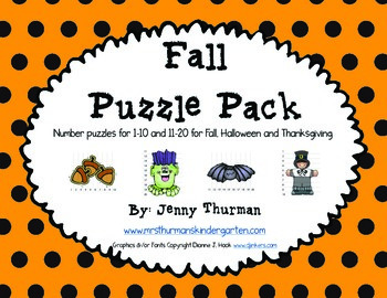 Fall Puzzle Pack