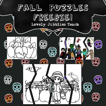 Fall Puzzles Freebie