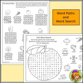 Autumn / Fall Puzzles - Fun Fall Activities