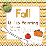 Fall Q-tip Painting