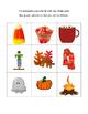 Fall QR Code Bingo Game Board