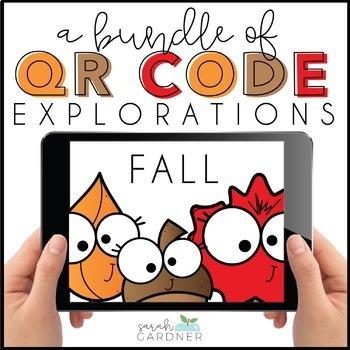 Fall QR Code Exploration BUNDLE