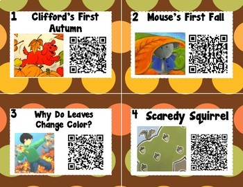 Fall QR Codes