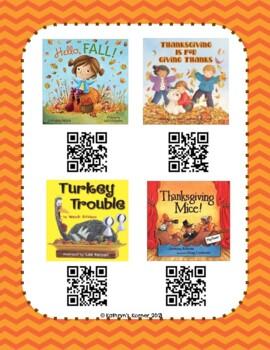 Fall QR Read-Alouds (Listening Center)
