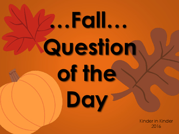 Fall Question of the Day