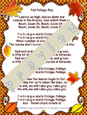 Fall Rap, Math Puzzles, Writing, Growth Mindset, Different