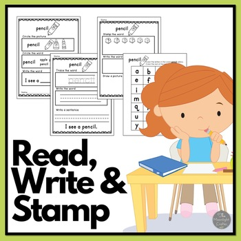 Fall: Read Write and Stamp! Set 3