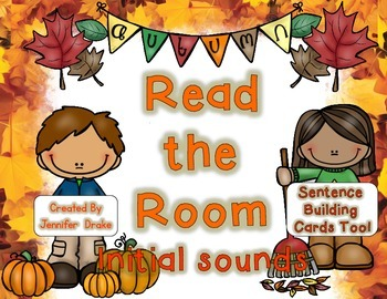Fall Read the Room for Initial Sounds