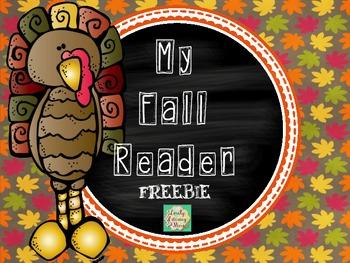 Fall Reader freebie