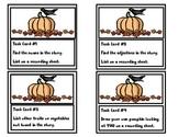 "Fall Reader w/task cards  ""Pumpkin Sees...(FREEBIE)"""