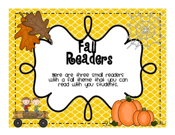 Fall Readers