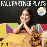 Fall Reader's Theater Scripts: Partner Plays for Two Readers