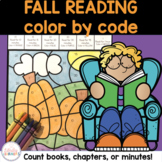Fall Reading Activities   Color by Code