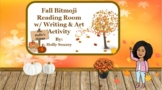 Fall Reading Bitmoji Room