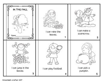 All About Fall Emergent Readers for Developing Fluency