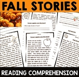 Fall Reading Comprehension Passages for 1st, 2nd or 3rd
