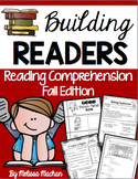 Reading Comprehension Passages, Questions, Activities - Fall