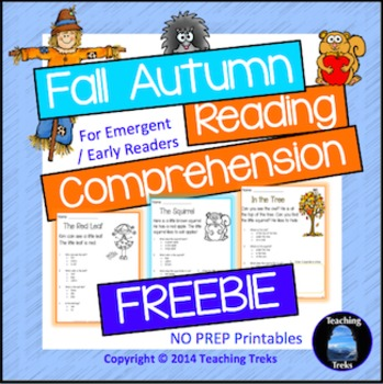 Fall Activities FREE