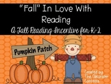 Fall Reading Incentives - Fall In Love With Reading!