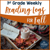 Fall Reading Log {1st Grade}