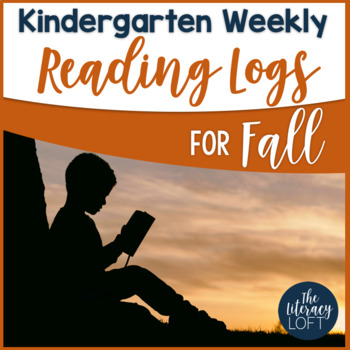 Fall Reading Log {Kindergarten}