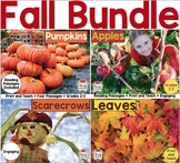 Fall Reading Passages Bundle