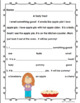 Fall Reading Comprehension Passages and questions First Grade