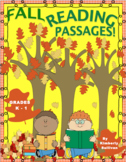 Fall Reading Comprehension Passages and questions K - 1